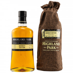 Highland Park 2004/2019 - 14 Jahre Single Refill Butt No. 6450 Norway Edition (Single Cask Series)