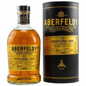 Aberfeldy 15 Jahre Sherry Finish Exceptional Cask Series
