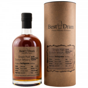 Inchgower 2009/2020 - 11 Jahre Single Oloroso Sherry Hogshead No. 803597 (Best Dram)