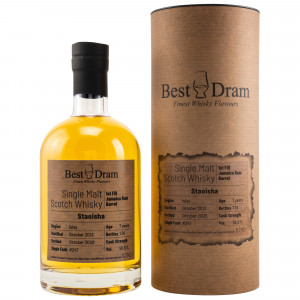 Bunnahabhain Staoisha 2013/2020 - 7 Jahre Single Jamaica Rum Barrel No. 247 (Best Dram)