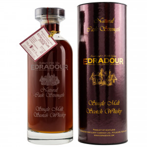 Edradour 2008/2020 - 12 Jahre Ibisco Sherry Decanter Cask No. 140