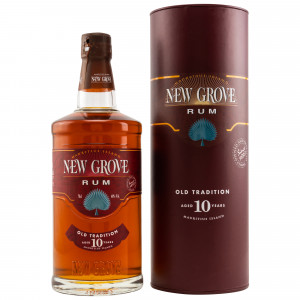 New Grove 10 Jahre Old Tradition Rum