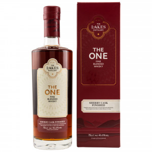 The Lakes The One Fine Blended Whisky Sherry Cask Finish