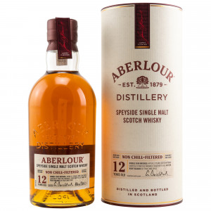 Aberlour 12 Jahre Non Chill-Filtered 48% Vol.