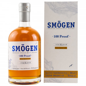 Smögen Whisky 100 Proof 6 Jahre Sherry Quarter Casks Batch 2