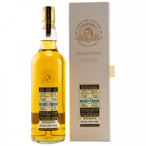 Highland Park 2007/2020 - 13 Jahre Single Cask No. 501712410 Dimensions (Duncan Taylor)