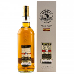 Invergordon 2009/2020 - 11 Jahre Singe Sherry Cask No. 520005 Rare Old Grain