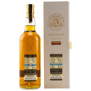 Highland Park 2004/2020 - 16 Jahre Single Cask No. 501710911 Dimensions (Duncan Taylor)