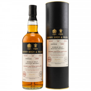 Secret Speyside 1990/2020 - 29 Jahre Single Cask No. 18005 (Berry Bros and Rudd) (exclusively bottled for Kirsch import)