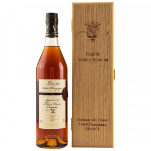 Vallein Tercinier Cognac Petite Champagne Lot 70 Cask No. 2 (in Holzbox)