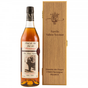 Vallein Tercinier Cognac Petite Champagne Lot 40 Hommage (in Holzbox)