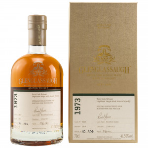 Glenglassaugh 1973/2019 - 46 Jahre Single Bourbon Barrel No. 5628 (The Nectar of the Daily Drams)