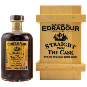 Edradour 2010/2020 - 10 Jahre Single Sherry Butt No. 407 Straight from the Cask