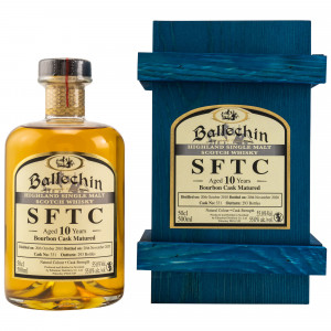 Ballechin 2010/2020 - 10 Jahre Bourbon Cask No. 331 Straight from the Cask