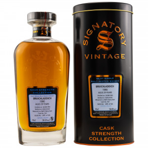 Bruichladdich 1990/2020 - 29 Jahre Single Refill Sherry Butt No. 164 Cask Strength Collection (Signatory)