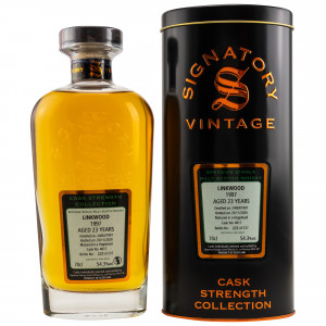 Linkwood 1997/2020 - 23 Jahre Single Hogshead No. 4617 Cask Strength Collection (Signatory)