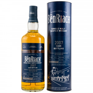 Benriach 2007/2019 - 12 Jahre Rum Barrel No. 11873 (bottled for The Nectar)