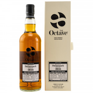 Dalmunach 2016/2021 - 4 Jahre Single Cask No. 10828266 The Octave bottled for Kirsch (Duncan Taylor)