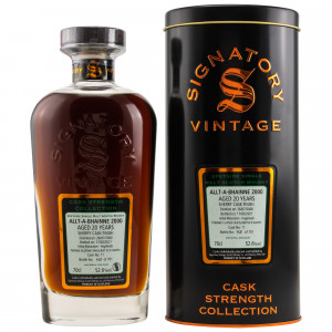 Allt-A-Bhainne 2000/2020 - 20 Jahre Sherry Butt Finish Cask No. 11 Cask Strength Collection (Signatory)