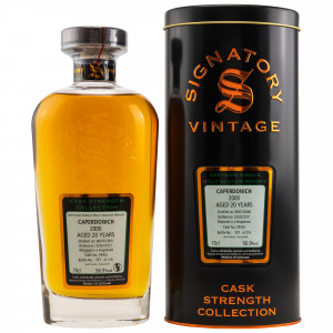 Caperdonich 2000/2020 - 20 Jahre Single Hogshead No. 29503 Cask Strength Collection (Signatory)