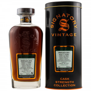 Mortlach 2010/2021 - 11 Jahre Sherry Butt Finish Cask No. 12 Cask Strength Collection (Signatory)