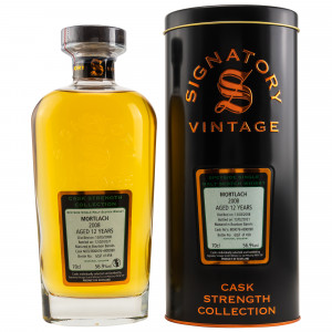 Mortlach 2008/2020 - 12 Jahre Bourbon Barrels No. 800076+800090 Cask Strength Collection (Signatory)