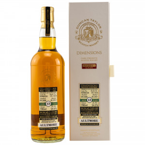 Aultmore 2008/2021 - 12 Jahre Single Sherry Cask No. 95900330 Dimensions (Duncan Taylor)