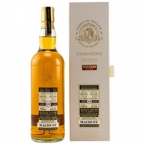 Macduff 2008/2021 - 12 Jahre Single Sherry Cask No. 5829743 Dimensions (Duncan Taylor)