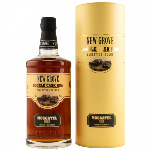 New Grove Rum 8 Jahre Double Cask Moscatel Finish mit Tube