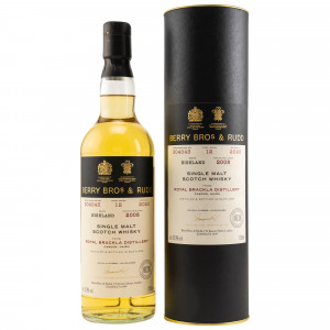 Royal Brackla 2008/2020 - 12 Jahre Single Cask No. 304043 (Berry Bros & Rudd)