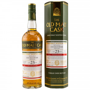 Inchgower 1997/2020 - 23 Jahre Single Sherry Butt No. HL18203 The Old Malt Cask (Hunter Laing)
