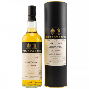 Williamson 2013/2021 - 7 Jahre Single Cask No. 206 (Berry Bros and Rudd) (exclusively bottled for Kirsch import)