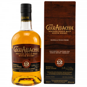 GlenAllachie 12 Jahre Marsala Wood Finish (Exclusive for Germany)