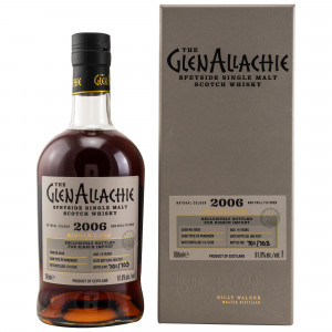 GlenAllachie 2006/2021 - 14 Jahre Single PX Puncheon No. 6838 (exclusively bottled for Germany)