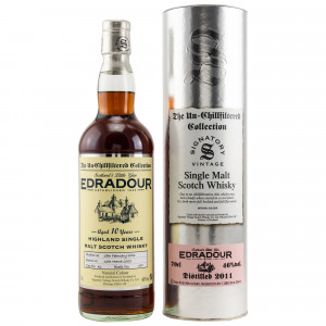 Edradour 2011/2021 - 10 Jahre Single Cask No. 42 The Un-Chillfiltered Collection (Signatory)