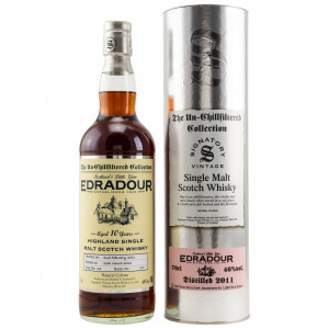 Edradour 2011/2021 - 10 Jahre Single Cask No. 24 The Un-Chillfiltered Collection (Signatory)