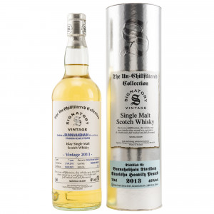 Bunnahabhain Staoisha 2013/2021 - 7 Jahre Hogsheads No. 900200 + 900202 The Un-Chillfiltered Collection (Signatory)