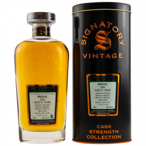 Braeval 2000/2021 - 21 Jahre Single Refill Butt No. 6393 Cask Strength Collection (Signatory)