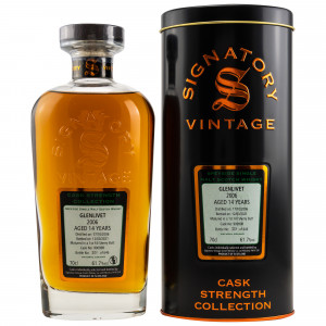Glenlivet 2006/2021 - 14 Jahre Single First Fill Sherry Butt No. 900998 Cask Strength Collection (Signatory)