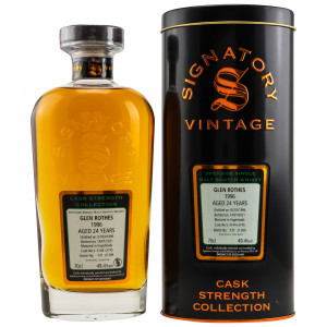 Glenrothes 1996/2021 - 24 Jahre Hogsheads No. 3144 + 3145 Cask Strength Collection (Signatory)