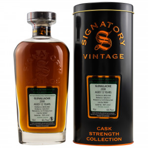 Glenallachie 2008/2021 - 12 Jahre Single First Fill Sherry Butt No. 900367 Cask Strength Collection (Signatory)