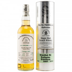 Dailuaine 2007/2020 - 13 Jahre Single Cask No. 303256 + 303290 The Un-Chillfiltered Collection (Signatory)