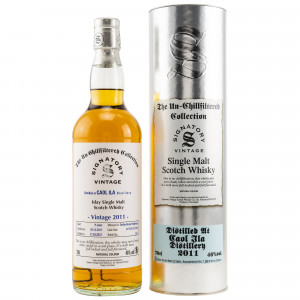 Caol Ila 2011/2021 - 9 Jahre Hogsheads No. 317187 + 317214 The Un-Chillfiltered Collection (Signatory)