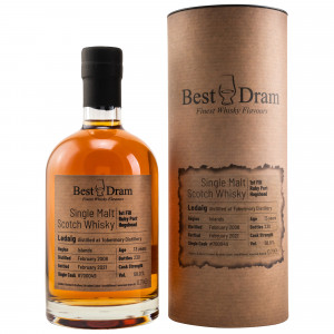 Ledaig 2008/2021 - 13 Jahre 1st Fill Ruby Port Hogshead No. 700049 (Best Dram)