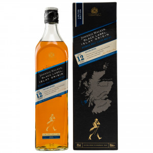 Johnnie Walker Black Label 12 Jahre Islay Origin Limited Edition