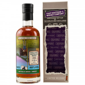 Tin Shed Distilling Co 3 Jahre Australian Whisky Batch No. 1 (That Boutique-y Whisky Company)