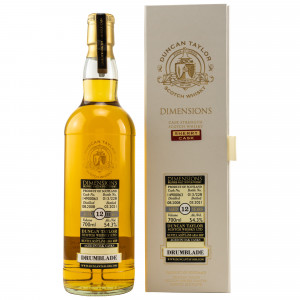 Drumblade 2008/2021 - 12 Jahre Single Sherry Cask No. 14900063 Dimensions (Duncan Taylor)