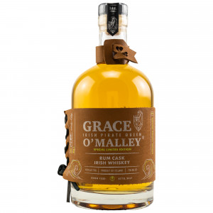 Grace O'Malley Blended Irish Whiskey Rum Cask Finish Special Limited Edition