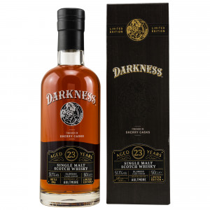 Aultmore 23 Jahre Oloroso Sherry Octave Finish (Darkness!)