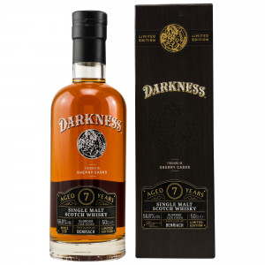 Benriach 7 Jahre Oloroso Sherry Octave Cask Finish (Darkness!)